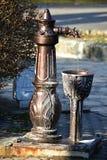 Healing spring water Royalty Free Stock Photos