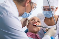 Healing of teeth Royalty Free Stock Images