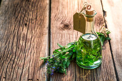 Healing tincture as an alternative cure Stock Photo