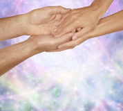The Healing Touch Stock Images
