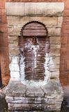 Healing Waters at Manitou Springs. Manitou Springs, CO/USA - September 6, 2016 - A water fountain with purported healing waters in Manitou Springs, Colorado Stock Image