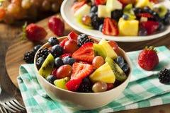 Heallthy Organische Fruitsalade Royalty-vrije Stock Afbeelding
