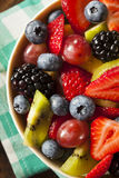 Heallthy Organische Fruitsalade Royalty-vrije Stock Fotografie