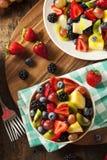 Heallthy Organische Fruitsalade Stock Afbeeldingen