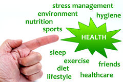 Health vector illustration