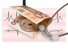Health banknote Royalty Free Stock Photography