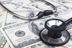 Health Banknotes Royalty Free Stock Photography