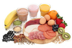Health and Body Building Food Stock Image