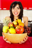 Health brings Happiness Royalty Free Stock Photography