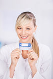 Health card Royalty Free Stock Photos