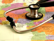 Health care in Africa2 Royalty Free Stock Photography