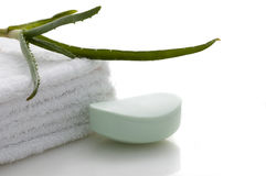 Health-care and body treatment Royalty Free Stock Photo