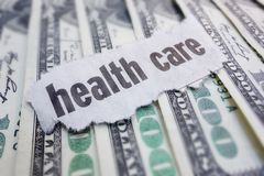 Health care cash Royalty Free Stock Photos