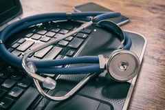 Health care concept medical tools Royalty Free Stock Image