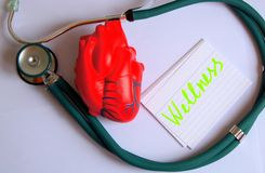 Health care concept - wellness Stock Photography