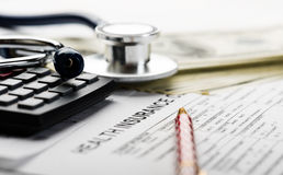 Health care costs. Stock Images