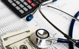 Health care costs. Royalty Free Stock Photos