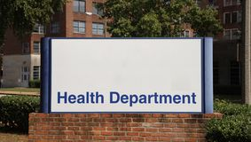 Health Department Stock Photography