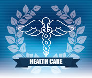 Health care design Stock Images