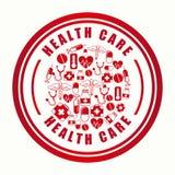 Health care design Royalty Free Stock Photo