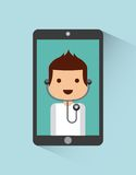 Health care design. Illustration eps10 graphic Royalty Free Stock Photos