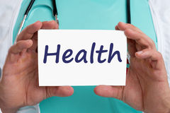 Health care healthcare ill illness healthy doctor Royalty Free Stock Images