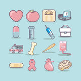 Health Care icon Stock Images