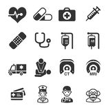 Health Care Icons royalty free illustration