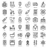 Health care medical outline icon Royalty Free Stock Images