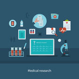 Health care and medical research Royalty Free Stock Images