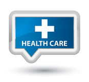 Health care (plus sign) prime blue banner button Royalty Free Stock Images