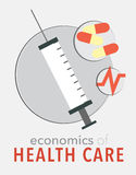 Health care poster Stock Photo