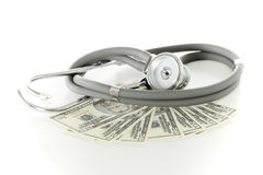 Health care price concept Stock Image