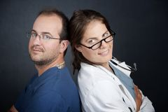 Health Care Professionals Stock Image