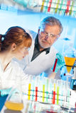 Health care professionals in lab. Stock Images