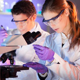 Health care professionals in lab. Stock Photography