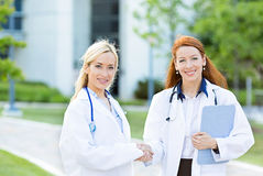 Health care professionals, teamwork Stock Images