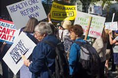 Health Care Rally Royalty Free Stock Photos