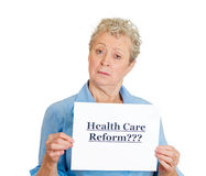 Health care reform??? Royalty Free Stock Photography