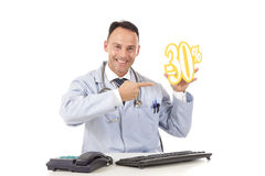 Health care on sale, 30 % Royalty Free Stock Photos