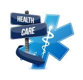 Health care sign symbol illustration design Royalty Free Stock Image