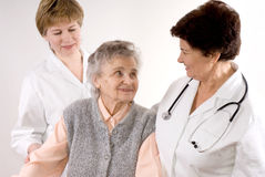 Health care workers Royalty Free Stock Images