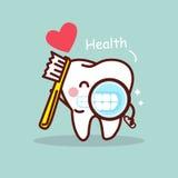 Health cartoon tooth Stock Photo