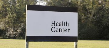 Health Center and Clinic Royalty Free Stock Photos
