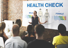 Health Check Annual Checkup Body Biology Concept Royalty Free Stock Image