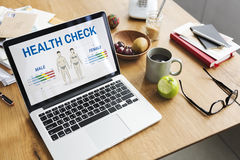 Health Check Annual Checkup Body Biology Concept Royalty Free Stock Photography
