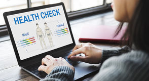 Health Check Annual Checkup Body Biology Concept Royalty Free Stock Images
