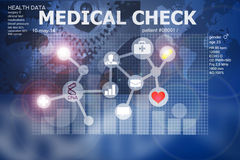 Health check app Royalty Free Stock Photography