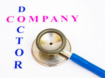 Free Health Check By Company Doctor. Stock Image - 11665501