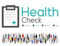 Health Check Diagnosis Medical Condition Analysis Concept Royalty Free Stock Image